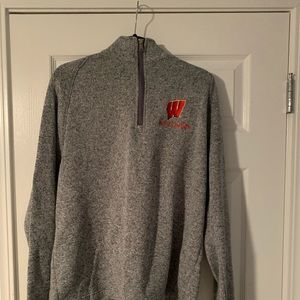 Wisconsin Champion Patagonia-Style Quarter-zip